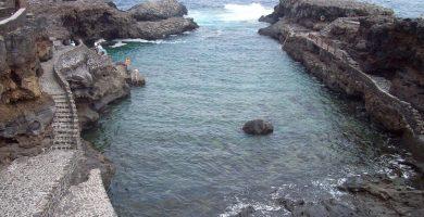 Playa Charco Manso en Valverde