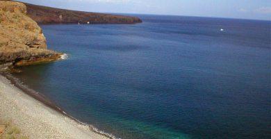 Playa Chinguarime en San Sebastián de la Gomera