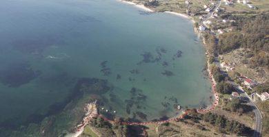 Playa Cirqueiros en Muros