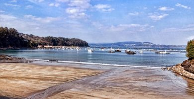 Playa Cirro en Sada