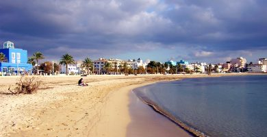 Playa Ciudad Jardín en Palma de Mallorca