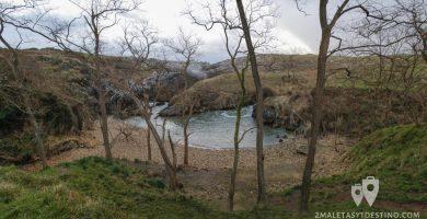 Playa Cobijeru en Llanes