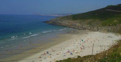 Playa Combouzas en Arteixo