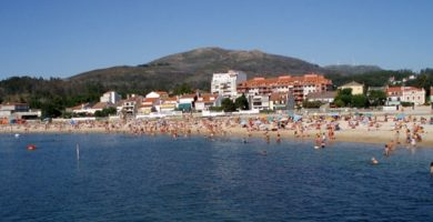 Playa Compostela en Vilagarcía de Arousa