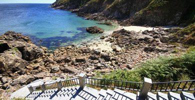 Playa Corbeiro en Xove