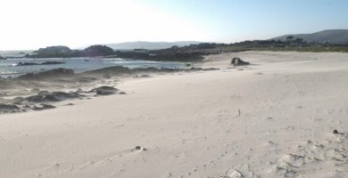 Playa Corna Becerra en Carnota
