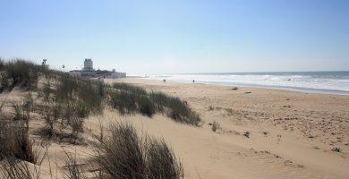 Playa Cortadura en Cádiz