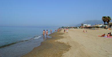 Playa Costa Bella en Marbella