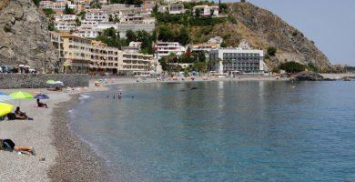 Playa Cotobro en Almuñécar