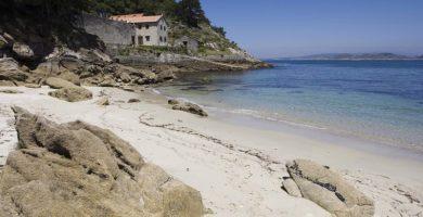 Playa Couso en Ribeira