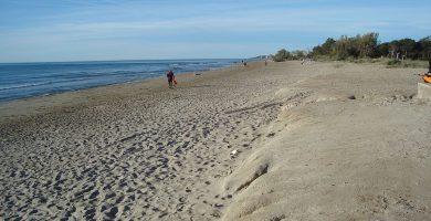 Playa Cudolá en Cabanes