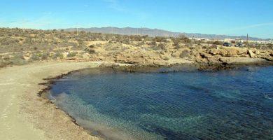 Playa Cueva de las Palomas en Águilas
