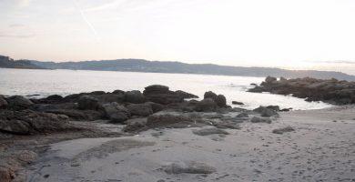 Playa Cunchosa en Bueu