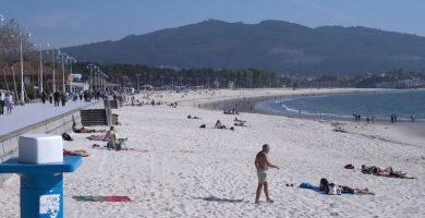 Playa De Argazada en Vigo