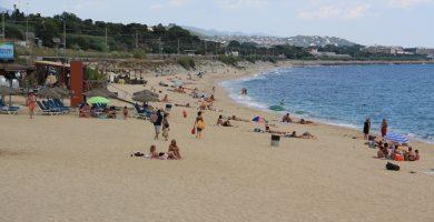Playa De Ponent en Mataró