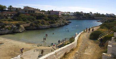 Playa Degollador en Ciutadella de Menorca