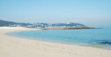 Playa Do Almacén en Moaña