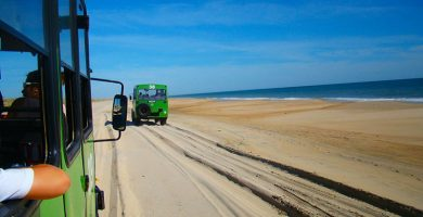 Playa Doñana en Almonte