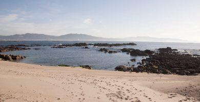 Playa Dos Castros en Cangas