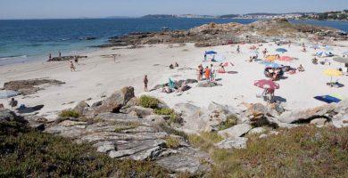 Playa Dos Mortos en Sanxenxo