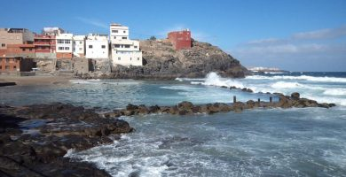 Playa Dos Roques en Gáldar
