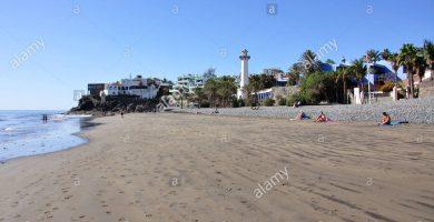 Playa El Águila en San Bartolomé de Tirajana