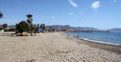 Playa El Alamillo en Mazarrón