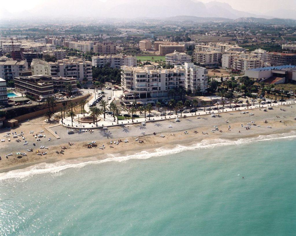 Playa El Albir en L'Alfàs del Pi