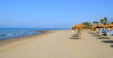 Playa El Alicate en Marbella