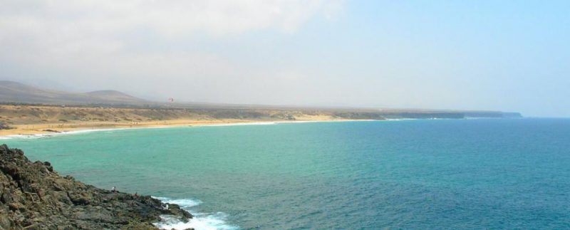 Playa El Aljibe en La Oliva
