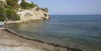 Playa El Amerador en El Campello