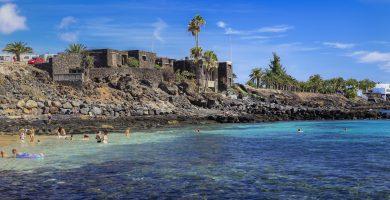 Playa El Ancla en Teguise