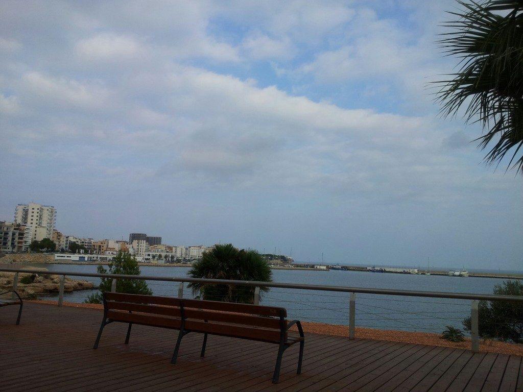 Playa El Arquitecto en L'Ampolla