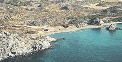Playa El Arroz en Águilas