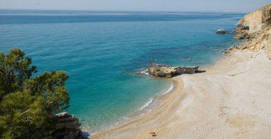 Playa El Asparalló en Villajoyosa