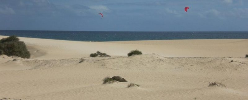Playa El Bajo Negro en La Oliva