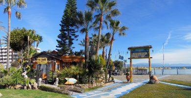 Playa El Bajondillo en Torremolinos
