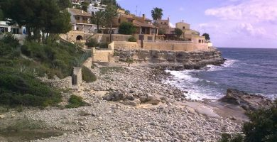 Playa El Baladrar en Benissa