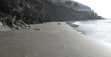 Playa El Balayo en Santa Cruz de Tenerife
