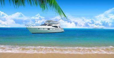 Playa El Barco en Coaña