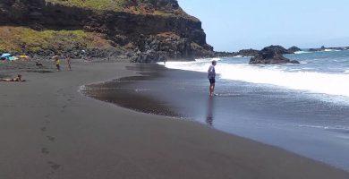 Playa El Bollullo en La Orotava