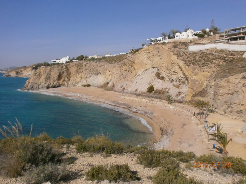 Playa El Bon Nou en Villajoyosa
