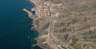 Playa El Calón en Cuevas del Almanzora