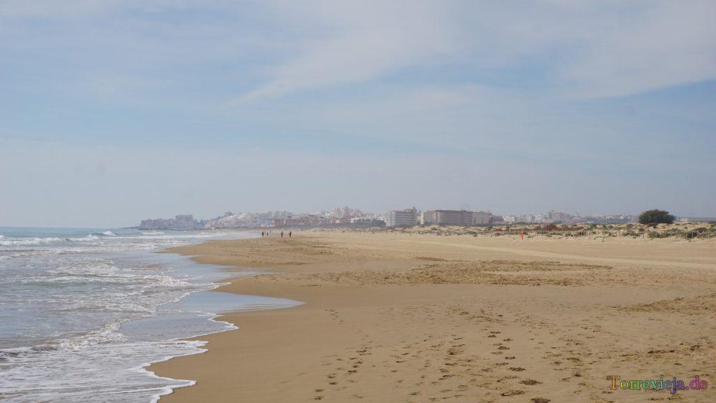 Playa El Campo en Guardamar del Segura