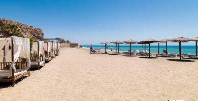 Playa El Candado en Málaga