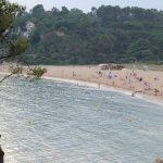 Playa El Castell en Palamós