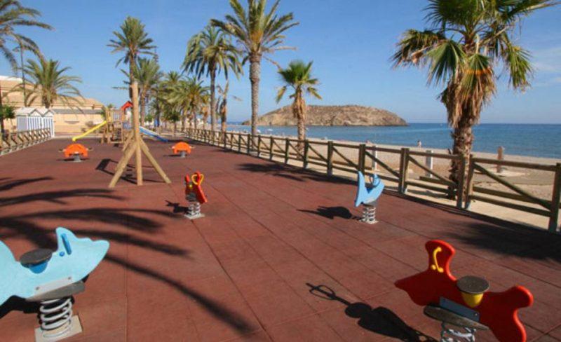 Playa El Castellar en Mazarrón