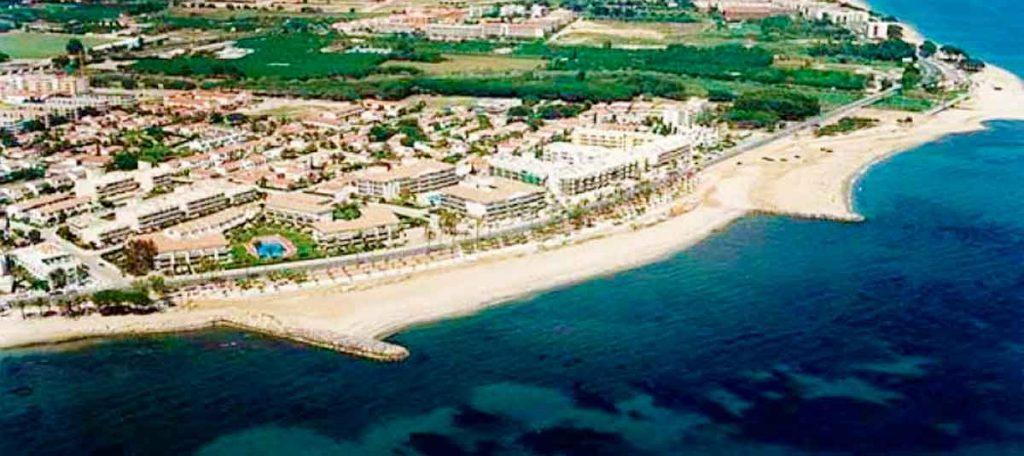Playa El Cavet en Cambrils
