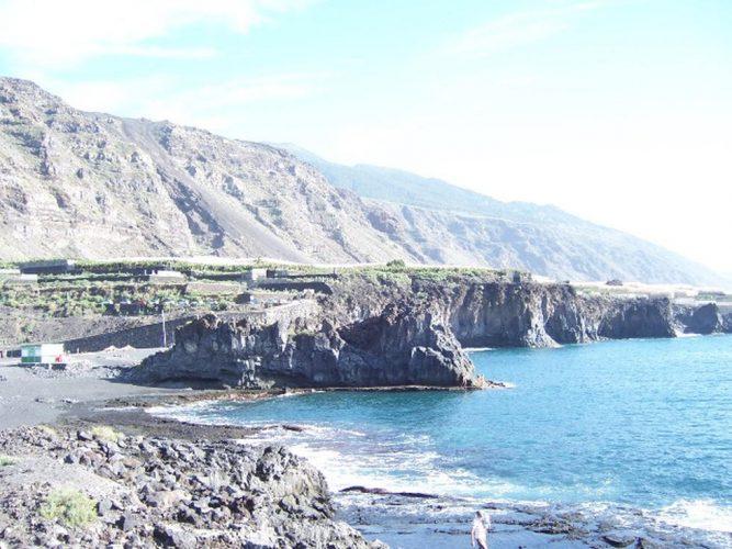 Playa El Charco Verde en Los Llanos de Aridane