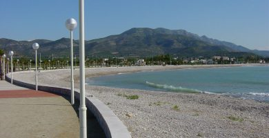Playa El Ciment en Alcanar